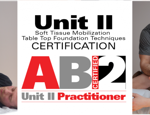 AB2 – Adaptive Bodywork Unit II – Table Top Foundation Techniques – certification
